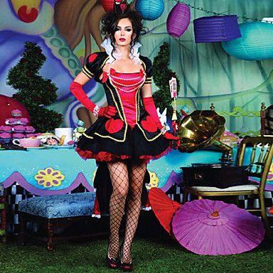 Sexy Girl Queen of Hearts Women's Halloween Party Costume