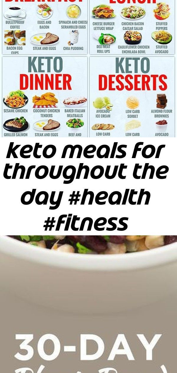 Keto meals for throughout the day #health #fitness #nutrition #keto #diet #dietplanbreakfast #plantb...