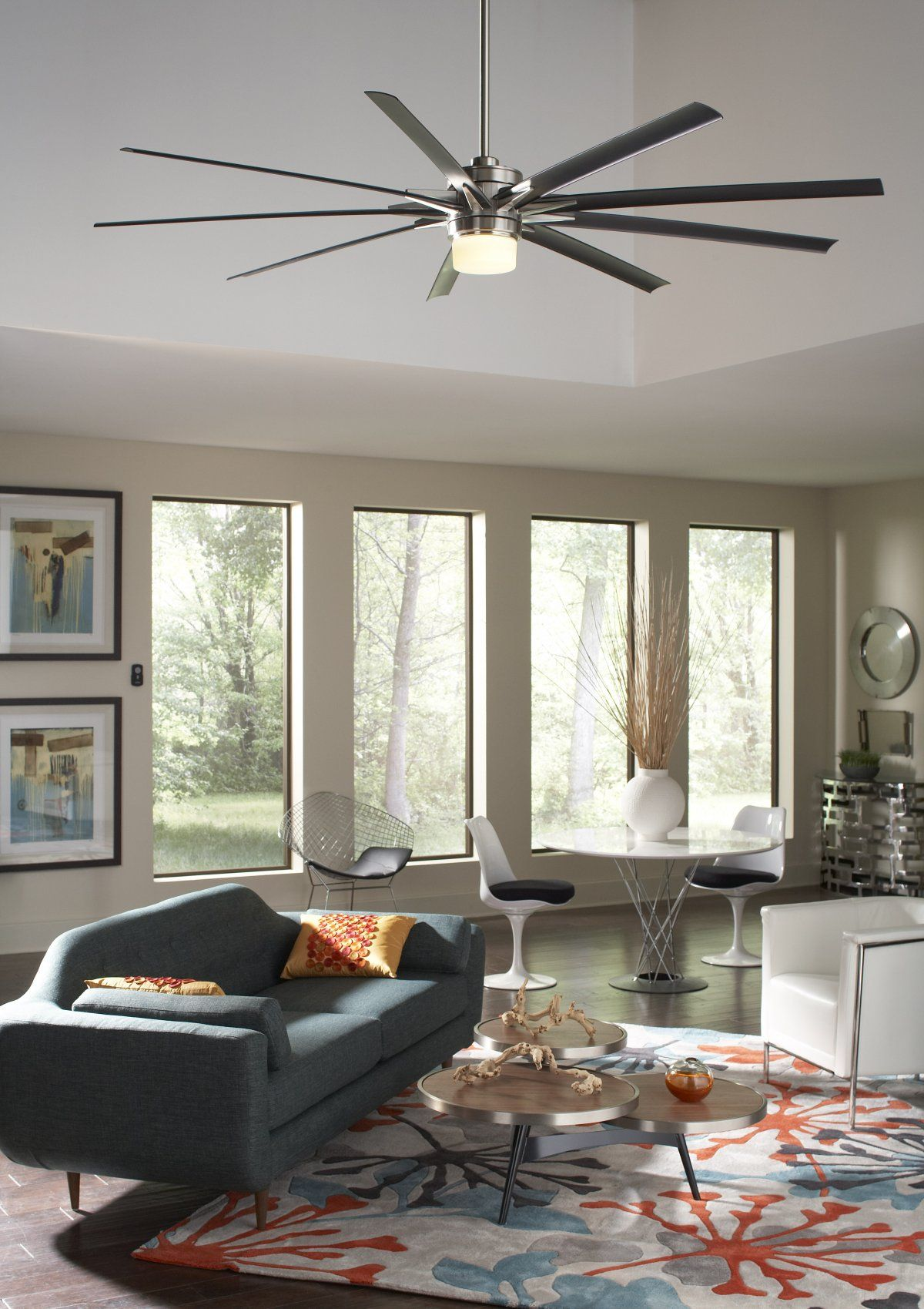 Decorating With Ceiling Fans: Interior Design Ideas That