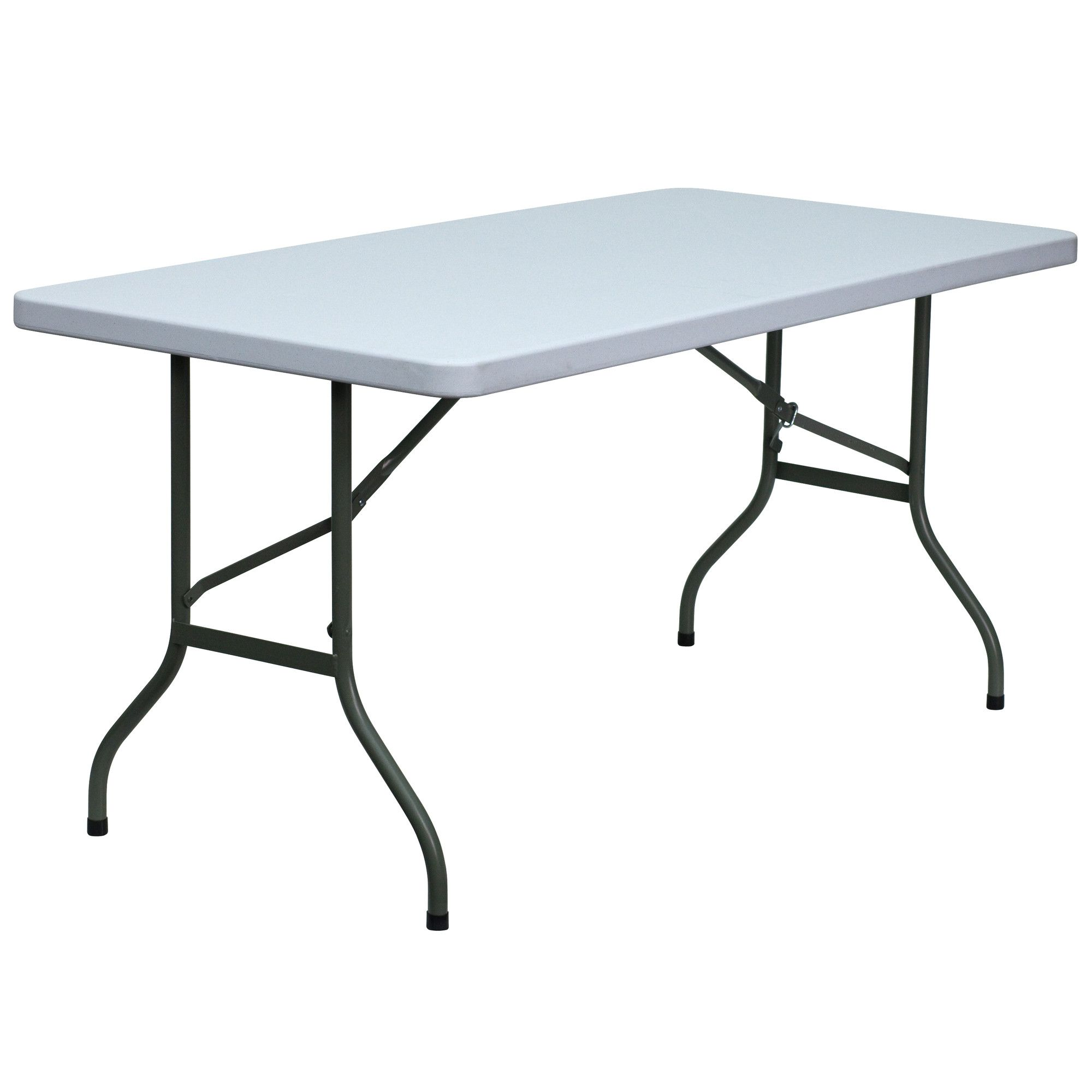 60 Rectangular Folding Table Furniture White Table Top Table