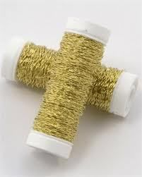 TCG Floral - Gold Bullion Wire, $7.99 (http://www.tcgfloral.com/gold-bullion-wire/)