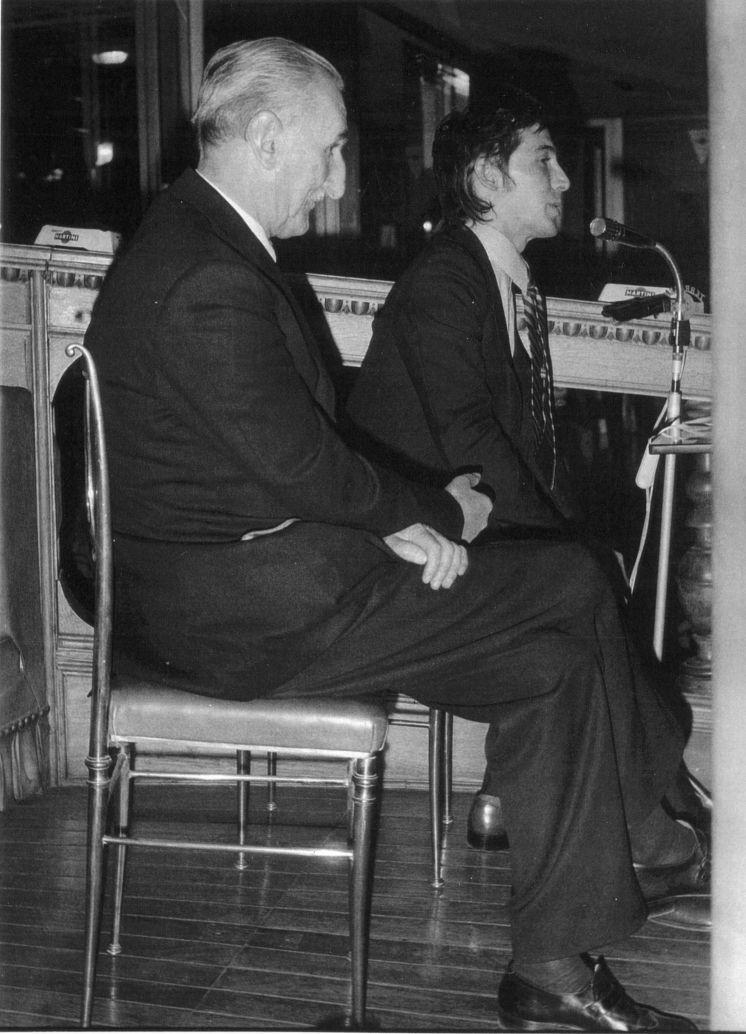 MICHEL TAPIÉ e ALBERTO RONCHETTI conferenza alla Terrazza Martini ...