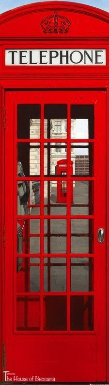 ~London Calling: Iconic London Phone Box | The House of Beccaria#
