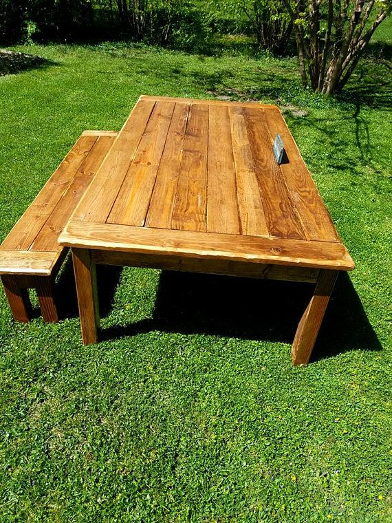 rustic breadboard end farm house reclaimed wood table matching