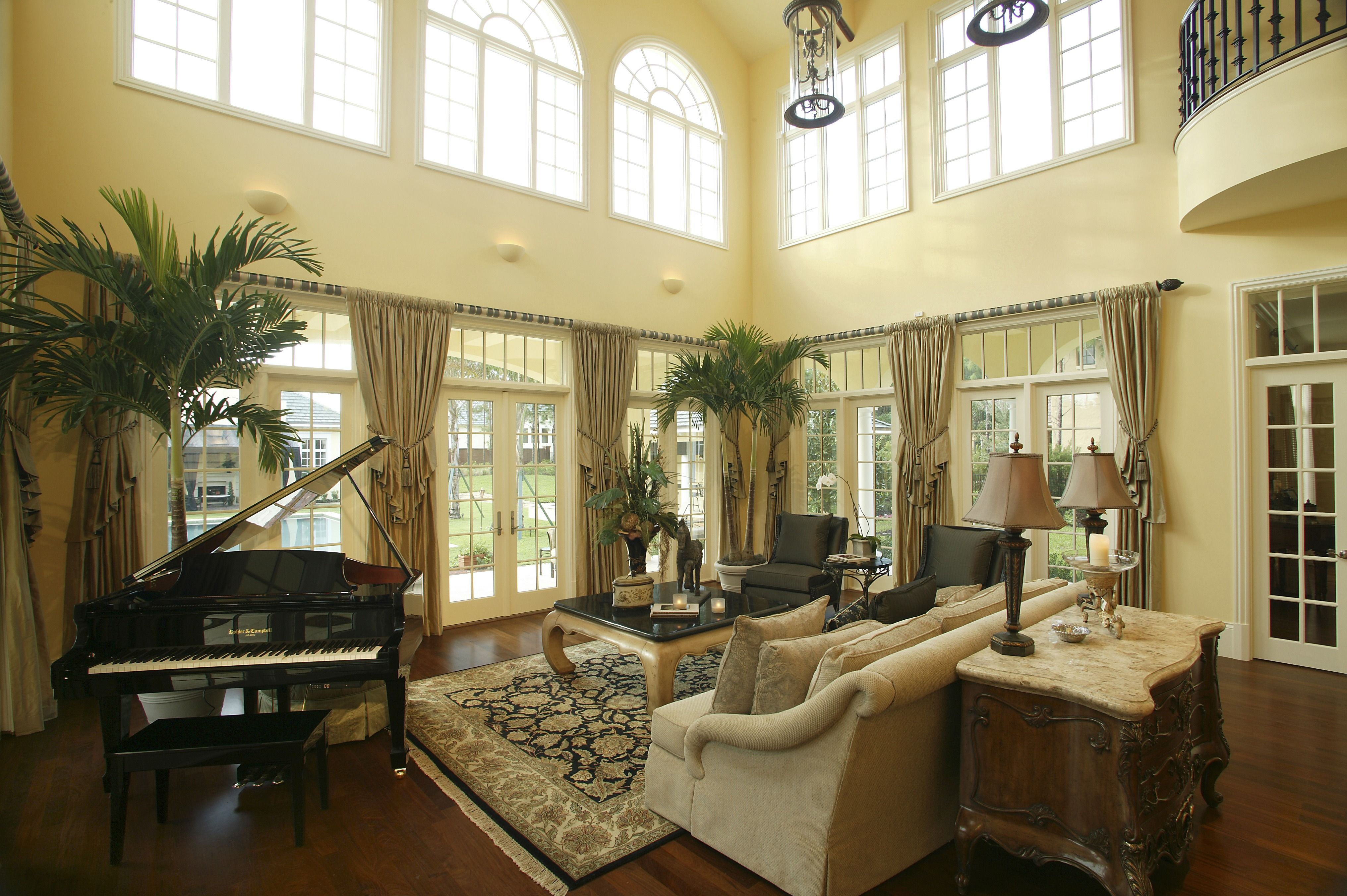 This Is A Neo-classic Traditional Style Living Room With