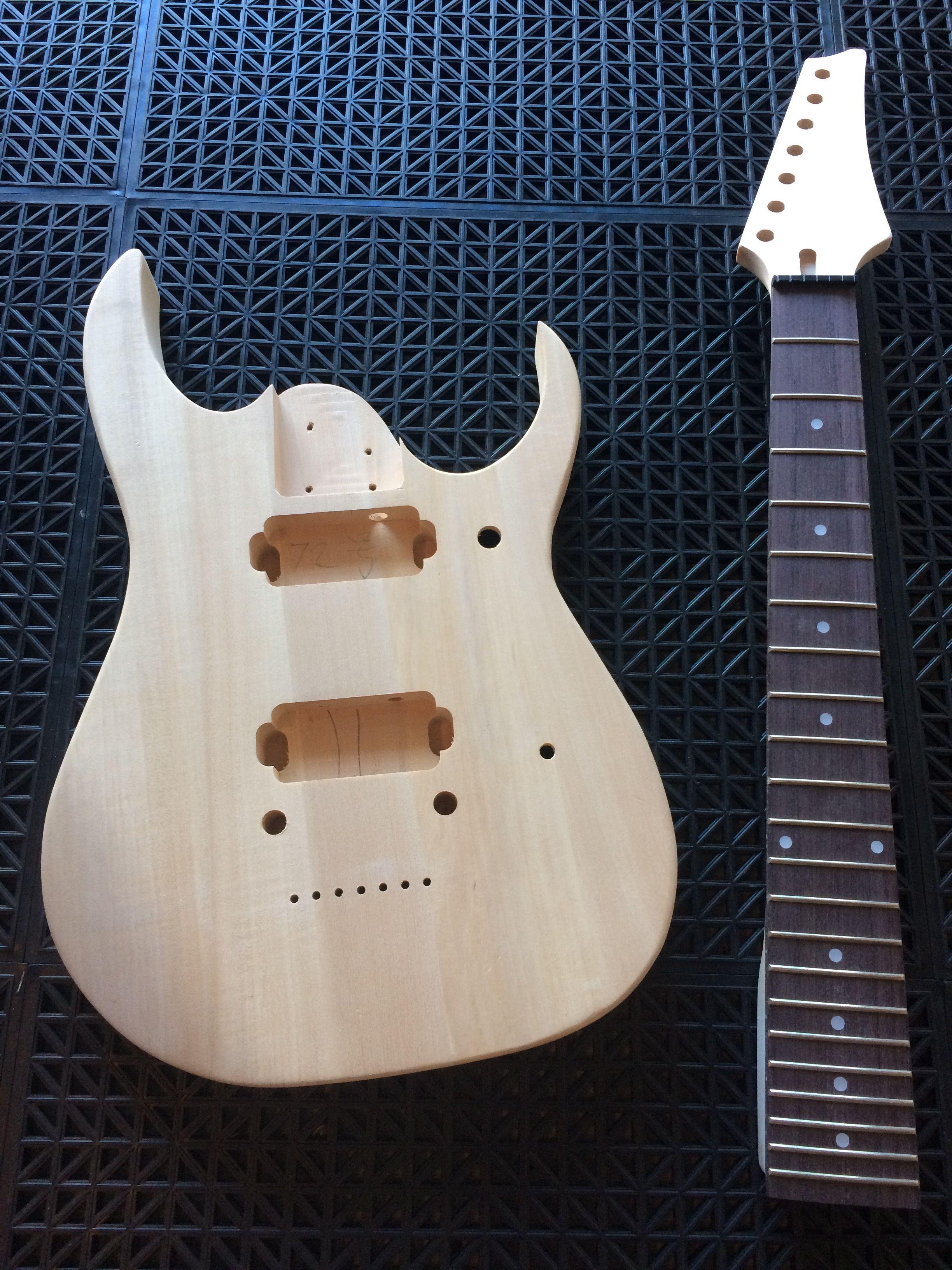 build your own guitar 7 string guitar kits pinterest guitar rh pinterest com