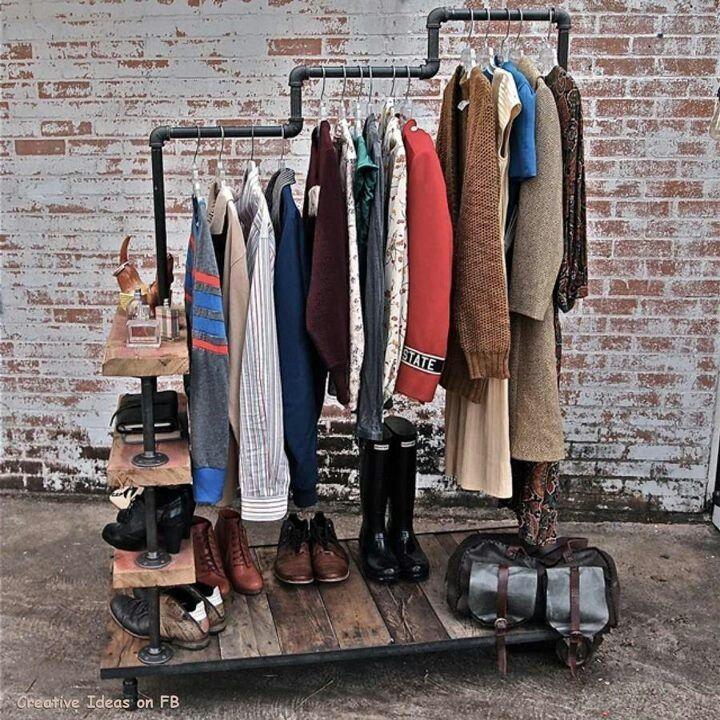 diy clothing rack ideas