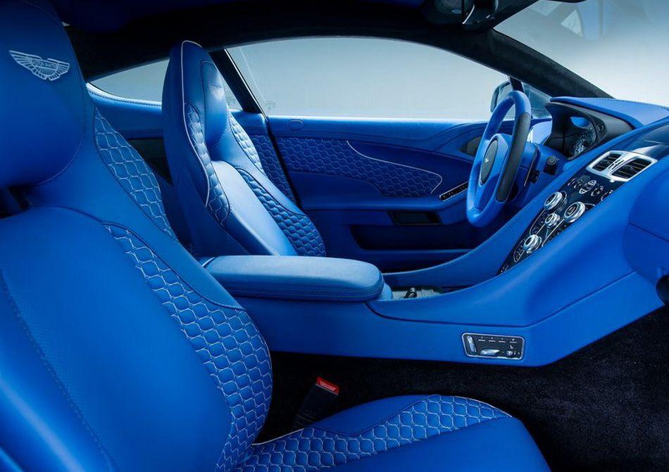 Luxury Blue Aston Martin Vanquish Interior Concept Blue Dresses