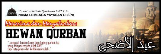 Banner Spanduk Qurban Iedul Adha 1437 2016 Free Download ...