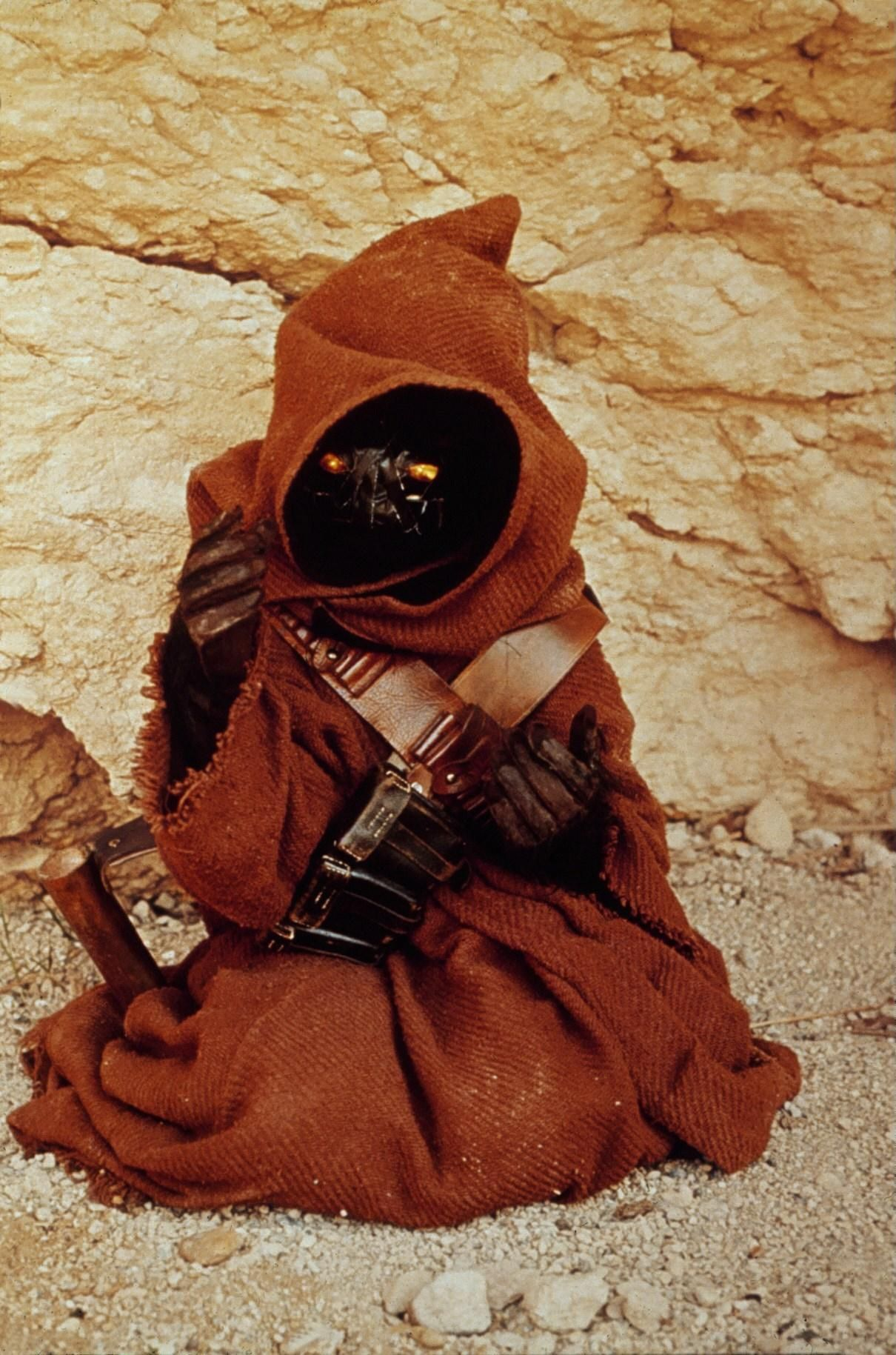 Jawa On Set Starwars Star Wars The Force Is Strong With This One