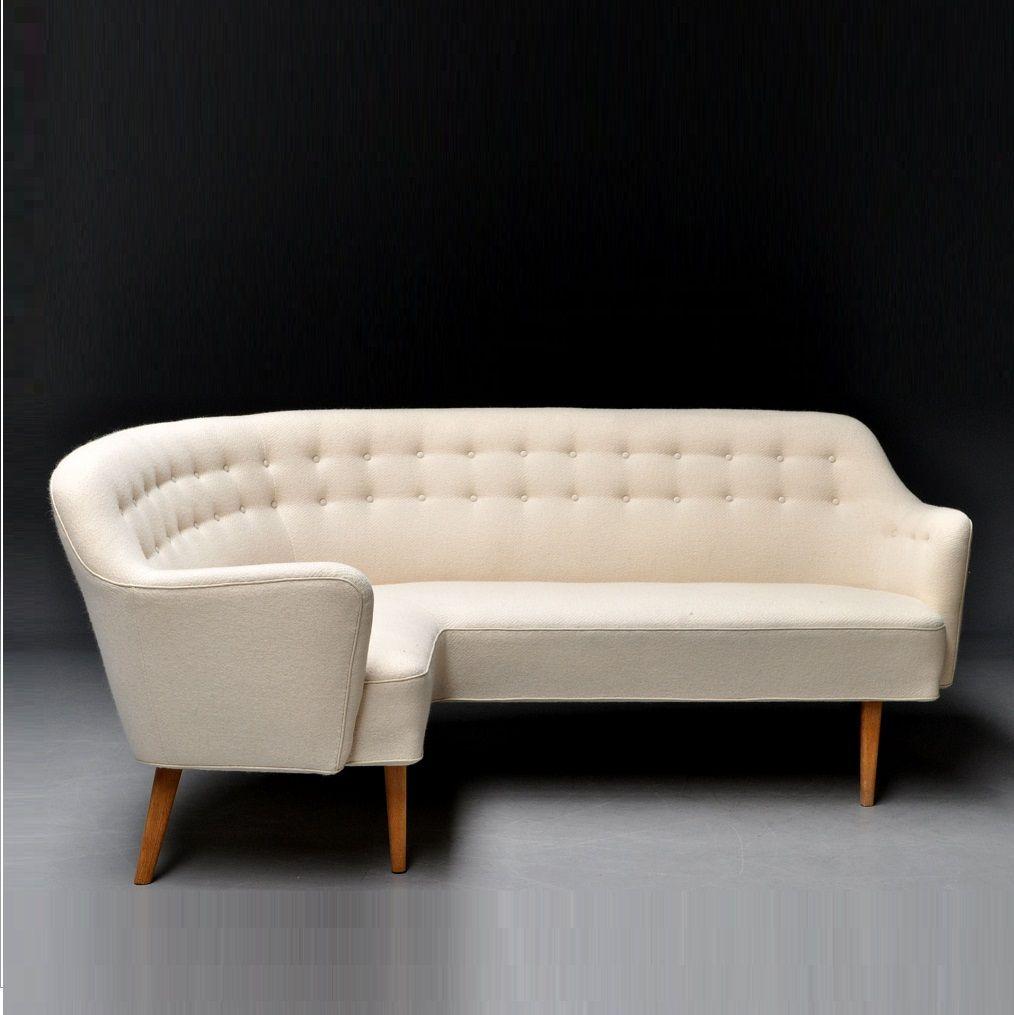 Danish Corner Sofa Vampt Vintage Design