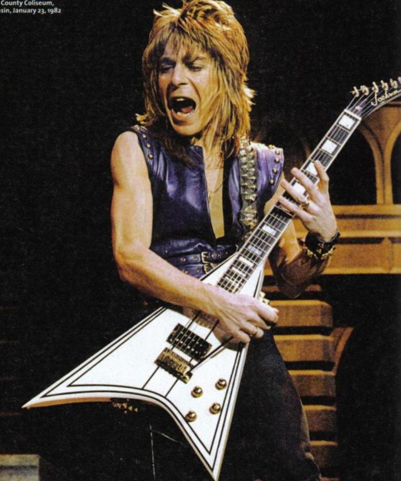 Happy Birthday Randy Rhoads Classic Rock Stars Birthdays Jackson Guitars Ozzy Osbourne Guitar