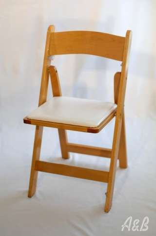 These chairs will be great for both indoor and out door. If we need extra seating around the ceremony space.