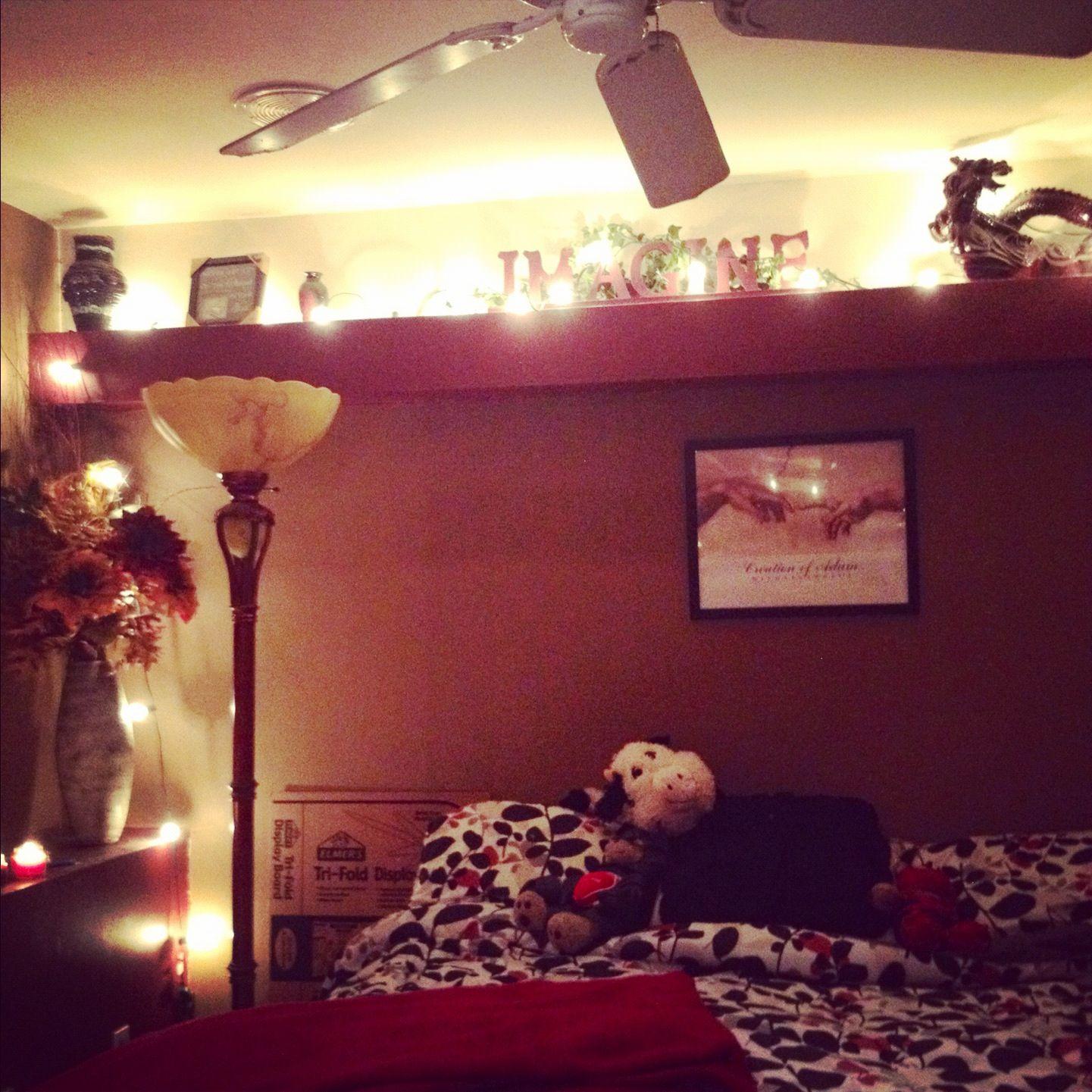 My cute bedroom Christmas lights My cute