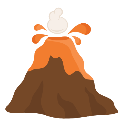 volcano svg cutting files for scrapbooking science svg cut files rh pinterest ca volcano clip art free volcano clipart png