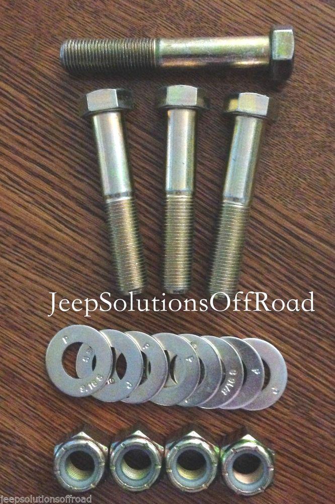 2007-2016 Jeep JK JKU Wrangler Track Bar Steering Stabilizer