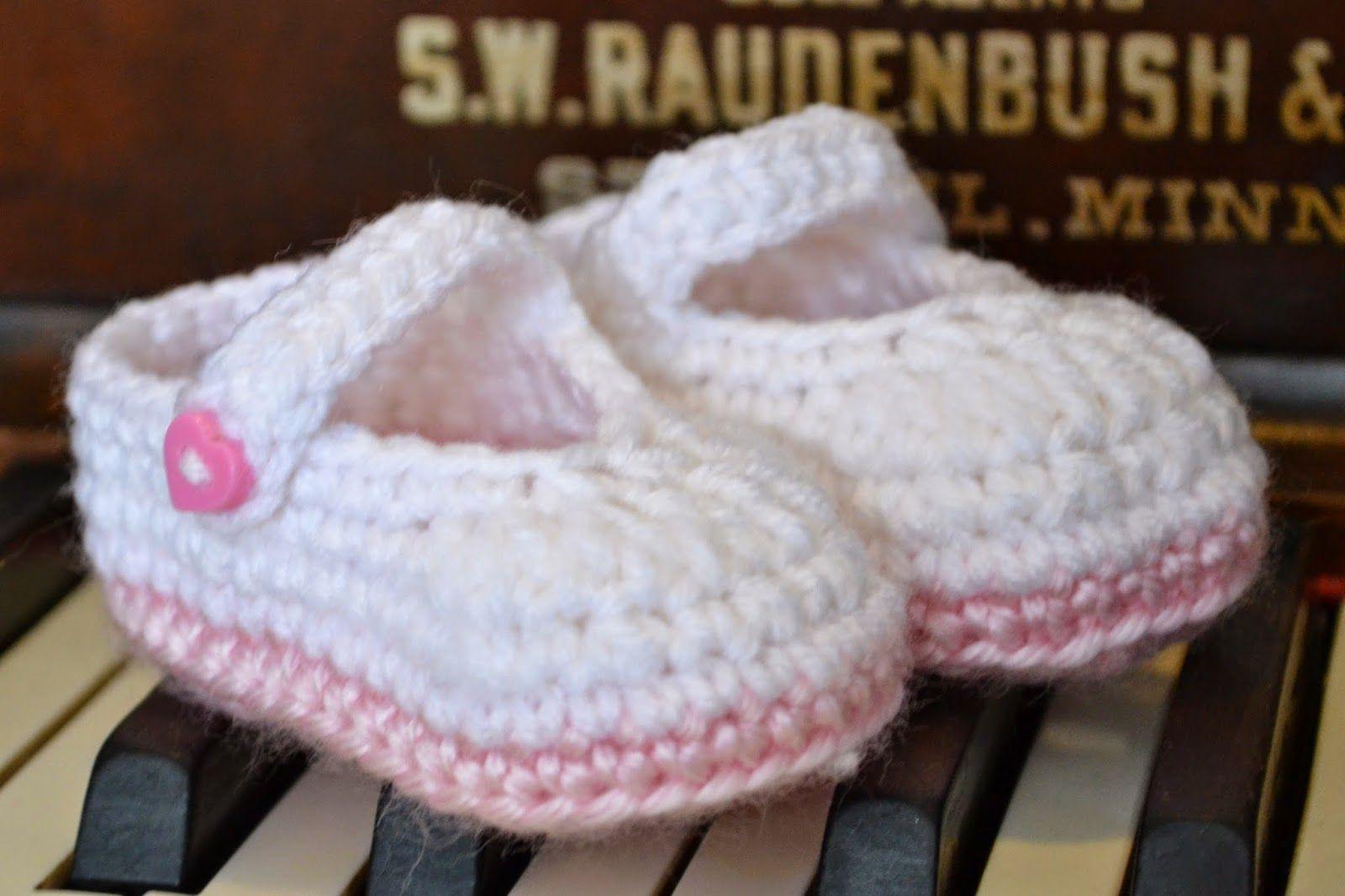 Pretty & Plain little Mary Jane FREE crochet pattern! | Hafty ...