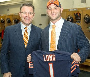 Hot Howie Long and his middle son Kyle Long. | Famous Dads and sons  for sale