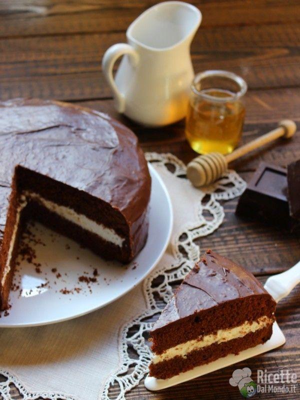 Ricetta Kinder Delice Morbida.Torta Kinder Delice Ricetta Torte Torte Alimentari Idee Alimentari