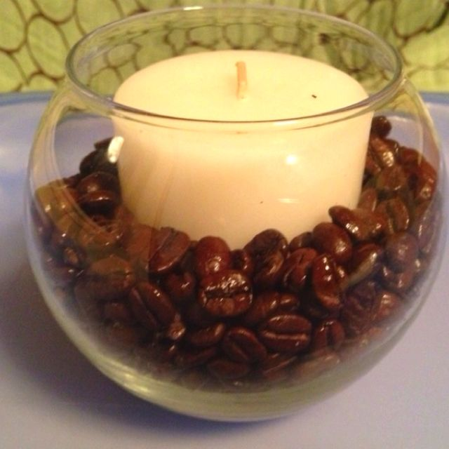 Love the smell of coffee beans :))