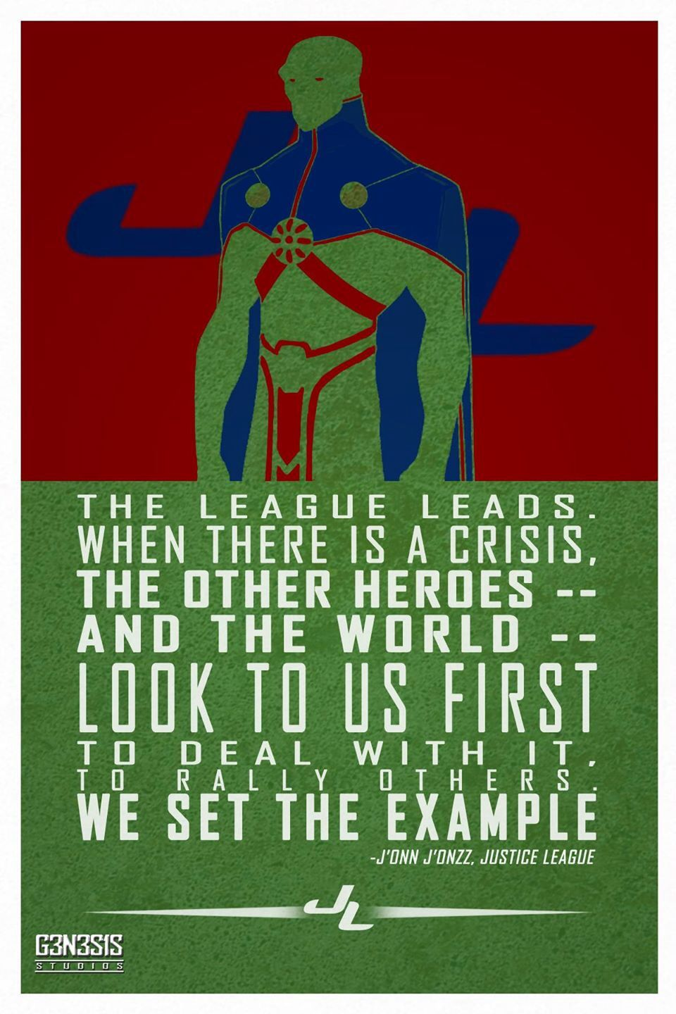 League Quotes Martian Manhunter Quote  The Justice League Quotes  Pinterest .