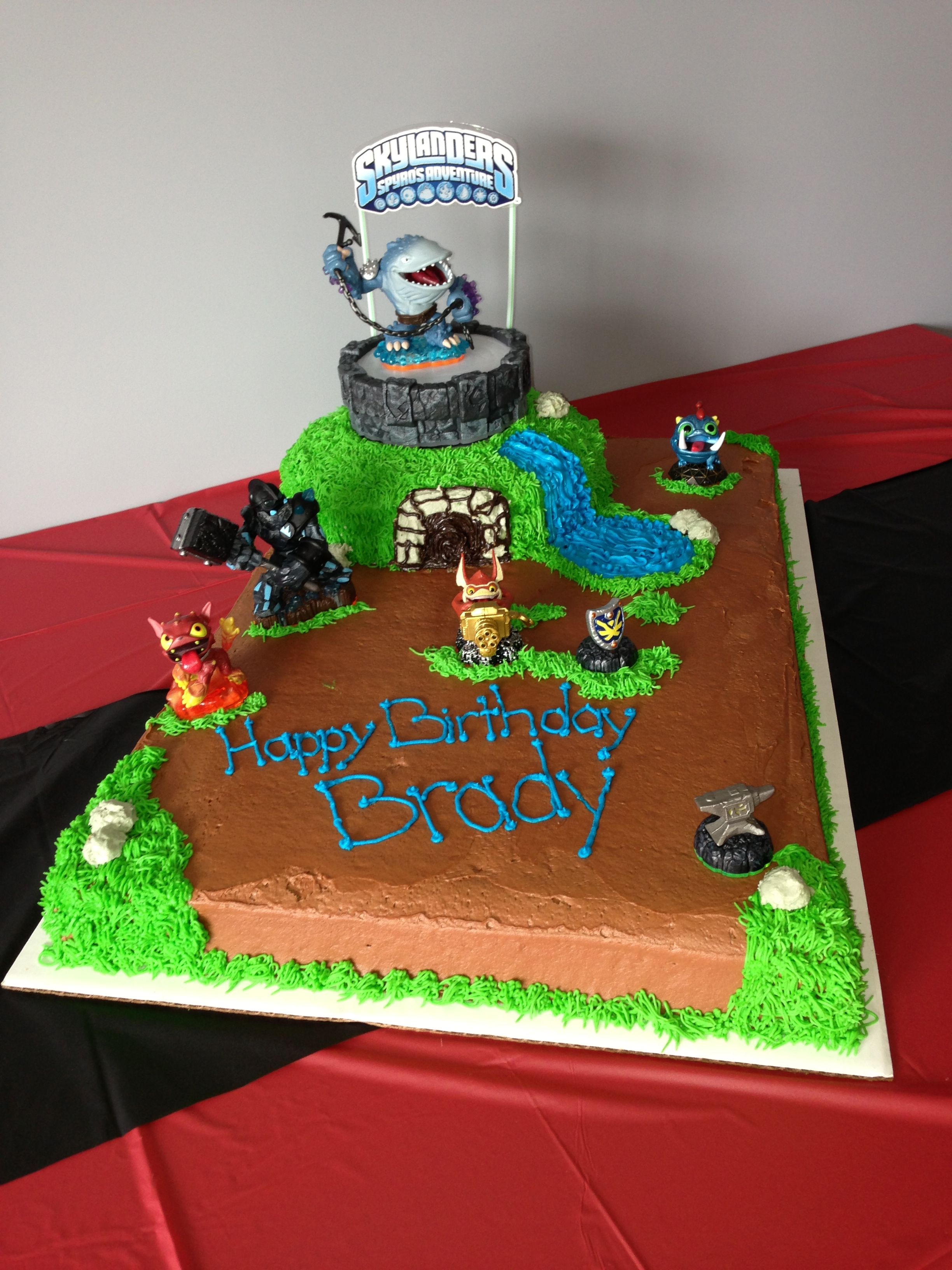 Skylander cake Skylanders party, Video game cakes, 6th