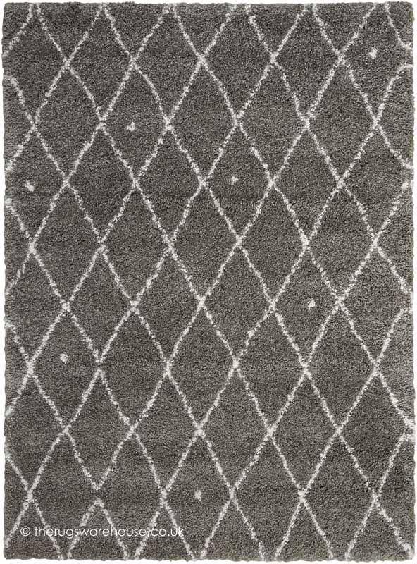 Riad Grey Ivory Rug Calvin Klein Home A Soft And Dense Modern Shaggy