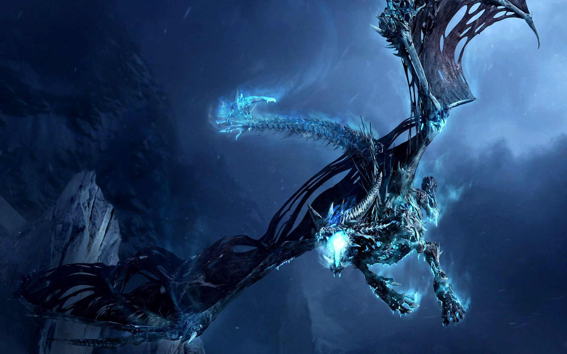 Demon Dragon Wallpapers Top Free Demon Dragon Backgrounds Wallpaperaccess Ice Dragon World Of Warcraft Wallpaper Dragon Pictures