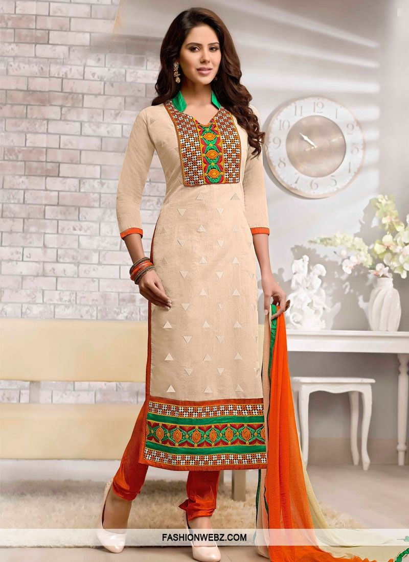 48825e5b9d Aesthetic Lace And Patch Work Churidar Salwar Kameez | raj | Latest ...