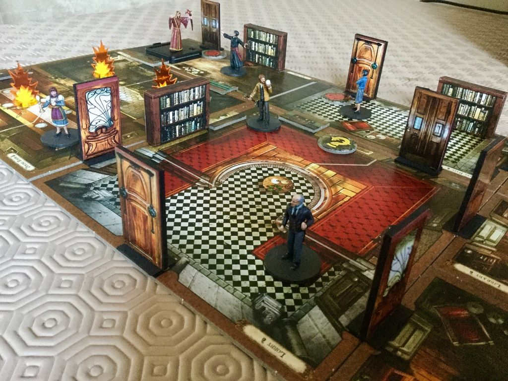 Mansions Of Madness Second Edition Doors And Barricades