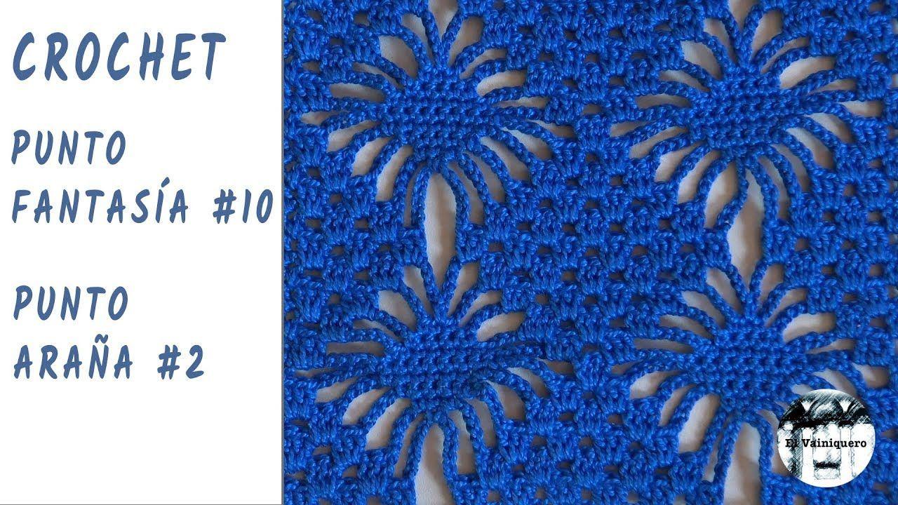 CrochetPuntos Punto Fantasia10 De Ganchillo Araña2 HeIYWED92