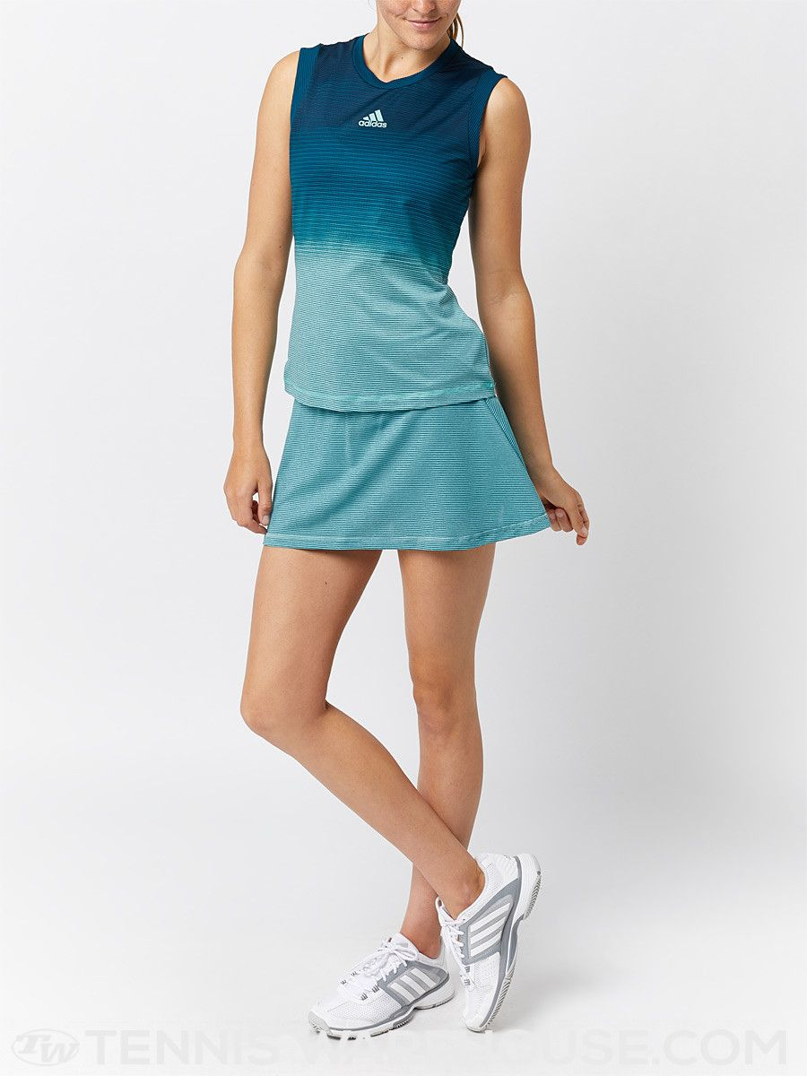 75f1f93f05 adidas Women's Spring Parley Skirt   Women's Tennis Wear   Fashion ...
