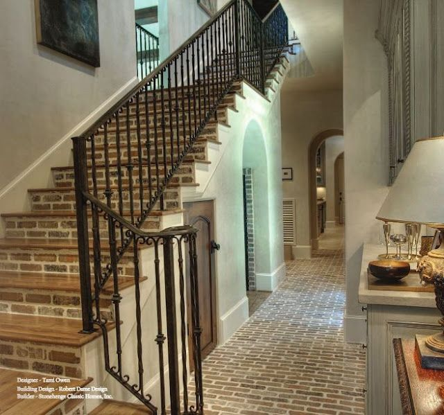 Tile Decor Tg Interiors Brick And Home Decor Stairways & Hallways