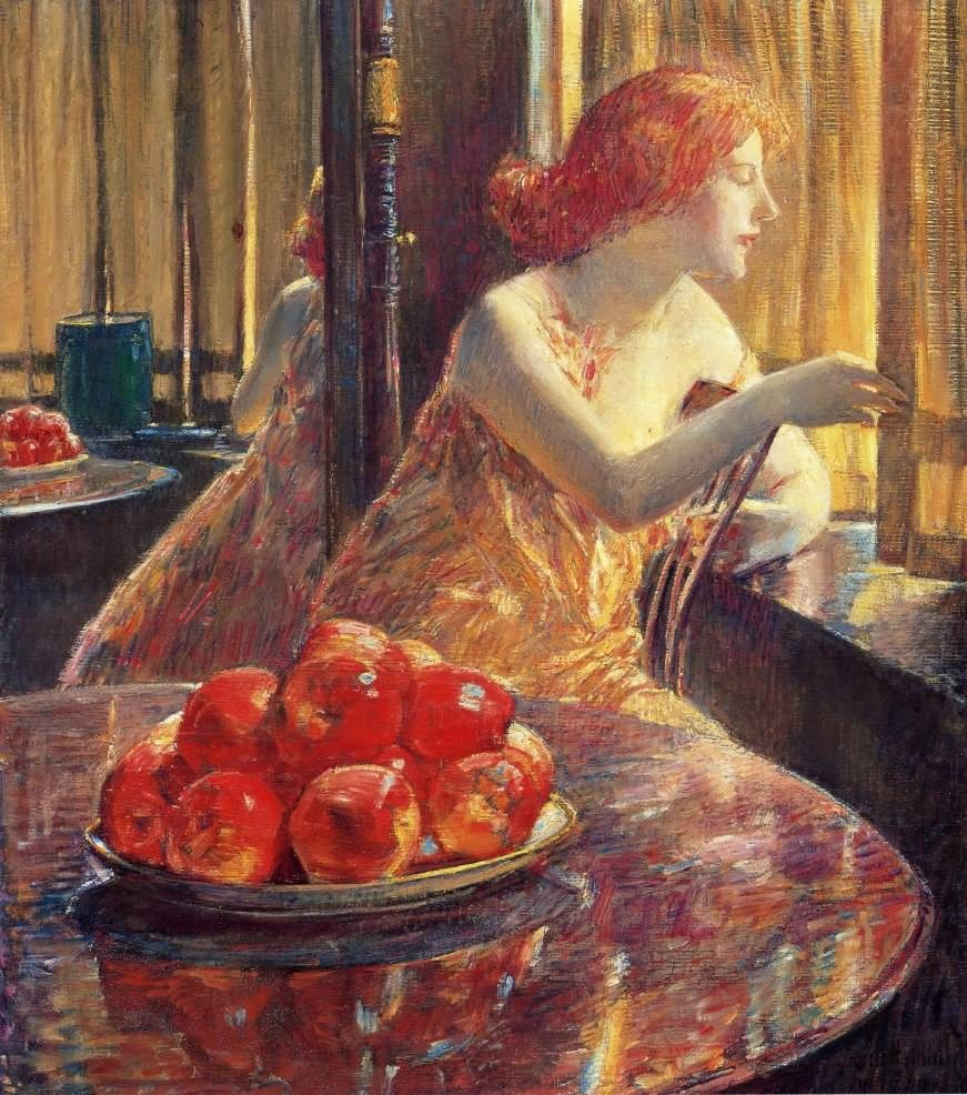 Frederick Childe Hassam Reflections Kitty Hughes