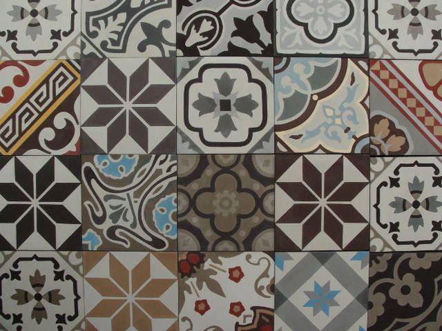 Portugese Tegels Patchwork : Patchwork portugese tegels encaustic tiles floorz