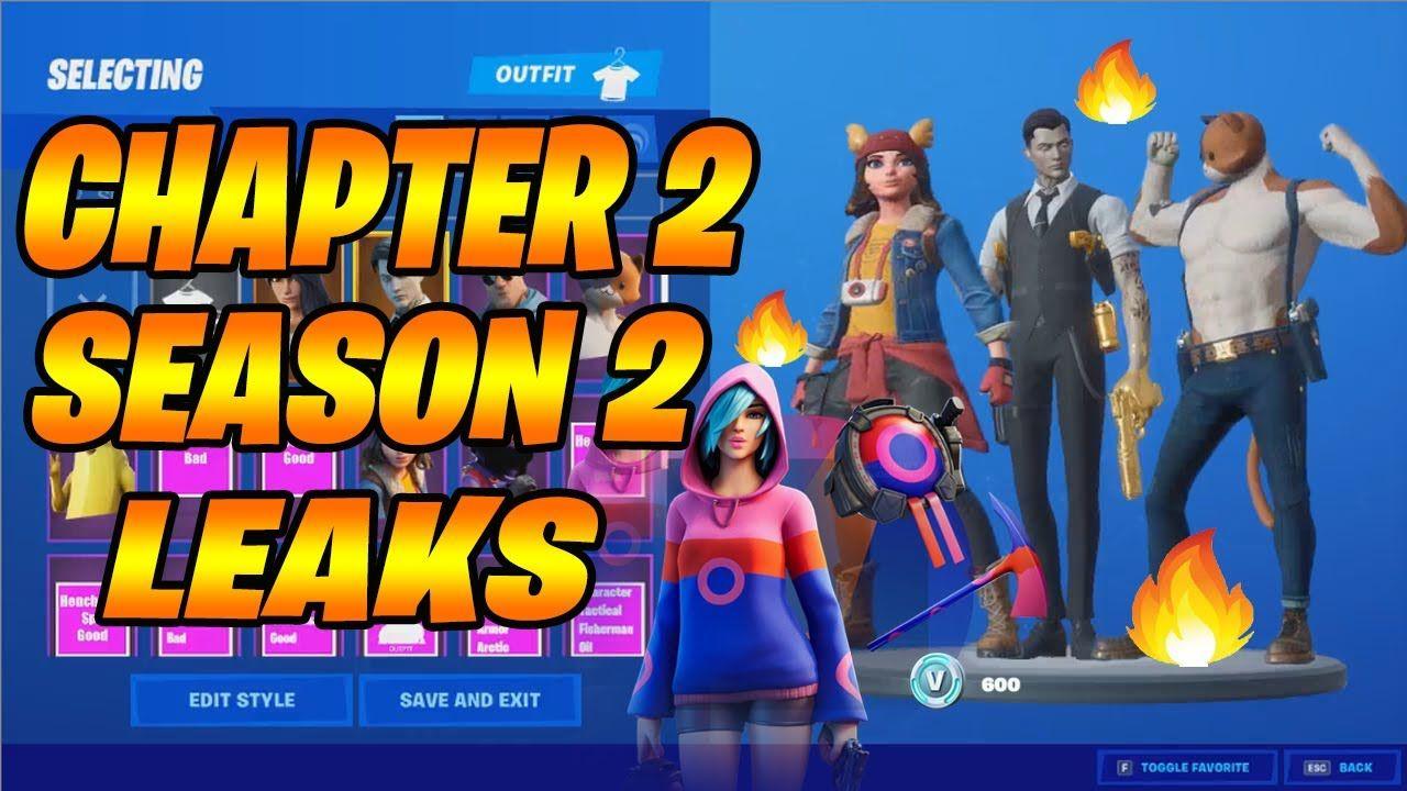 Fortnite Chapter 2 Season 2 Leaks Fortnite Chapter Season 2