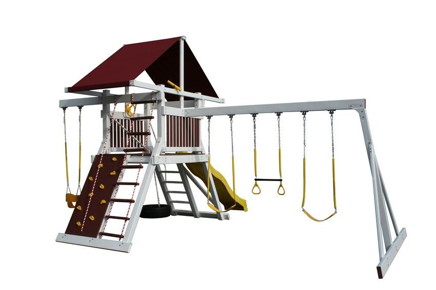 Amish Vinyl Clad Olympic Runner | GAMES | Pinterest | Playground set ...