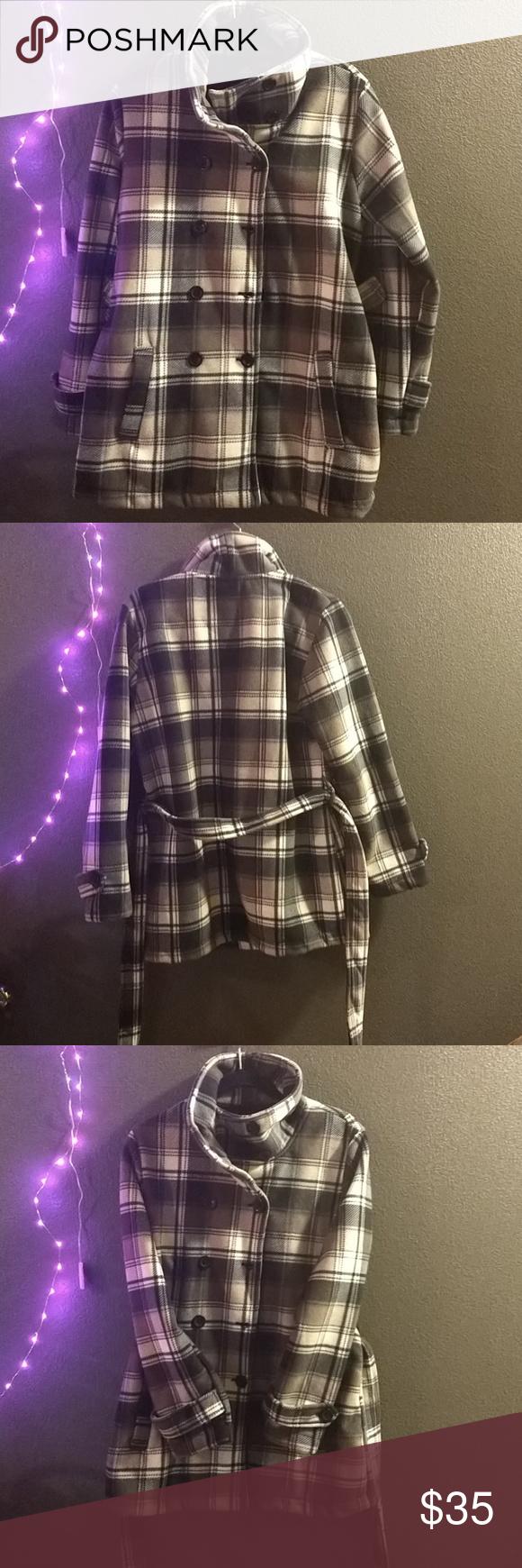 Ike behar fleece jacket nwt in my posh picks pinterest