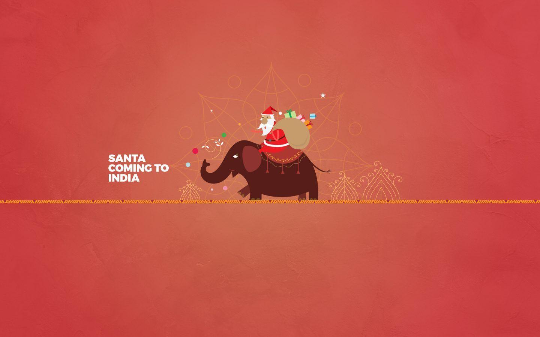Santa Journey To India