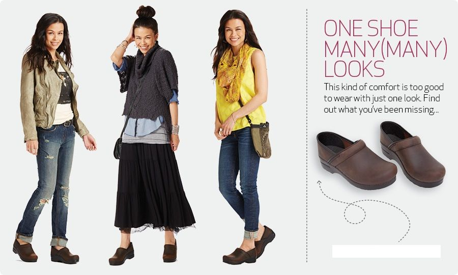 31cbbba2eb1 What to Wear with Dansko Clogs | How to Wear Dansko | Chattanooga Shoe  Company…
