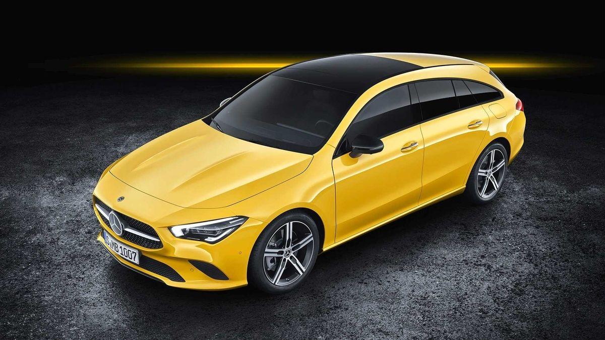 Mercedes Cla Shooting Brake 2019 Officieel Autofans Mercedes