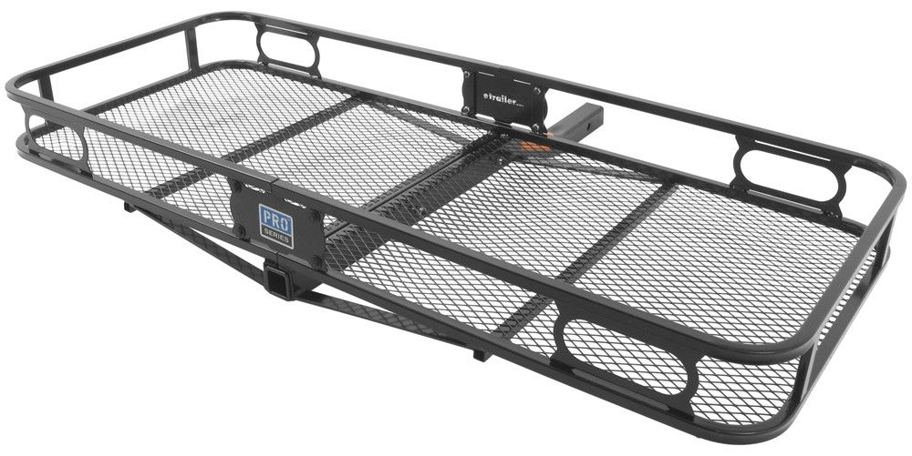 "Trailer Hitch Luggage Rack 24X60 Pro Series Cargo Carrier For 2"" Hitches  Steel  500 Lbs"