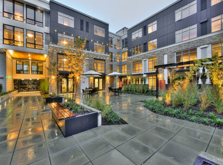 Lyric Apartments Runberg Architecture Group Urban Courtyards Apartments Exterior Multifamily Housing