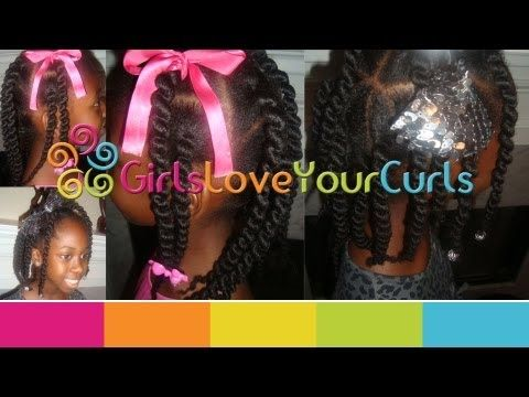 ♥ 39 ♥ African Threaded Corkscrew Box Braids.....LOVE this look!! Can't wait to try this on my daughter!!