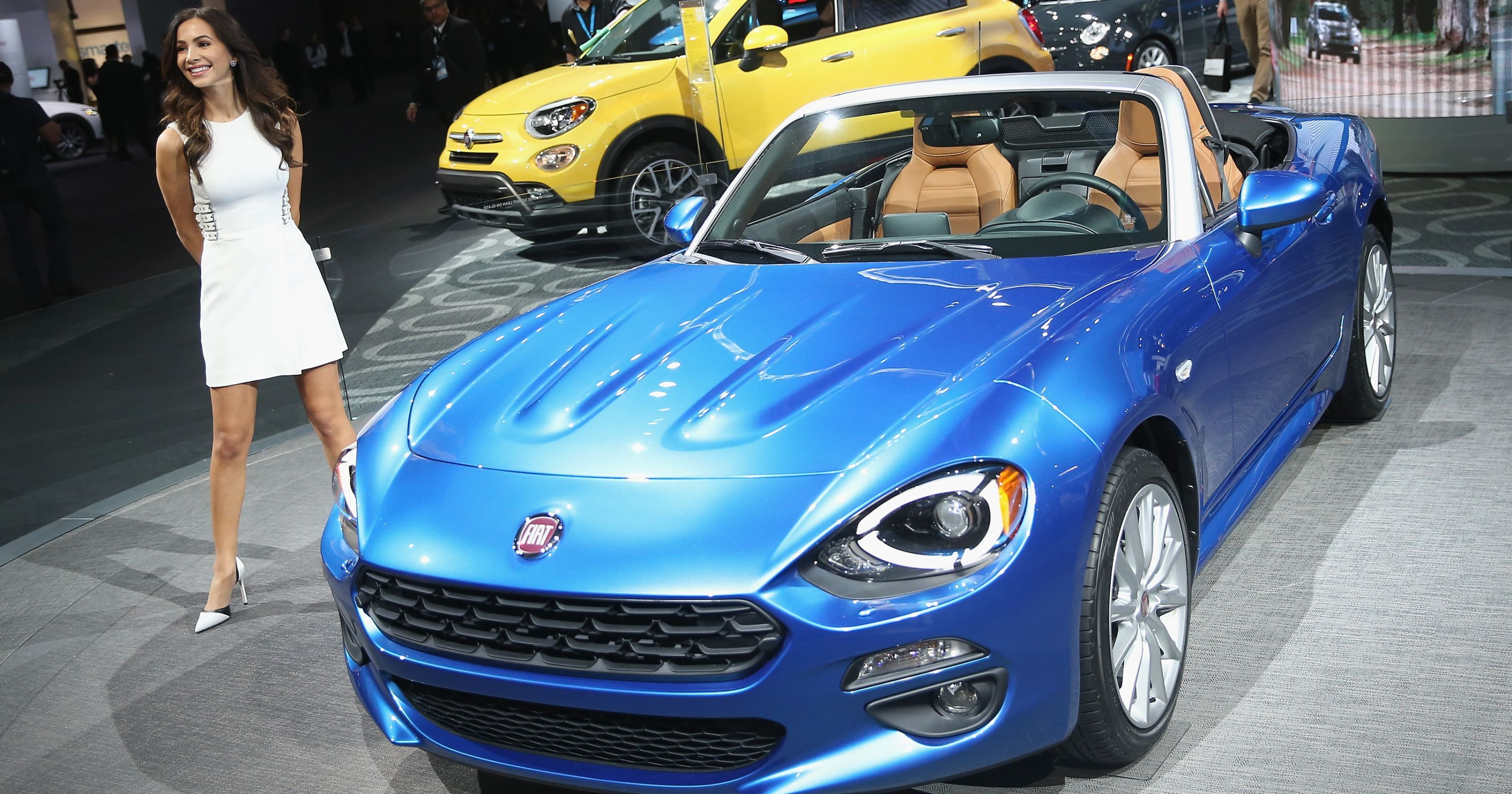 Fiat Spider | New Car Models Wow At Detroit Auto Show