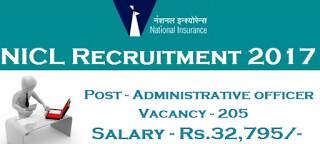 National Insurance Company Limited Nicl Assistant Officer