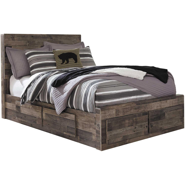 Derekson Full Storage Bed Full Bed With Storage Storage Bed Bed