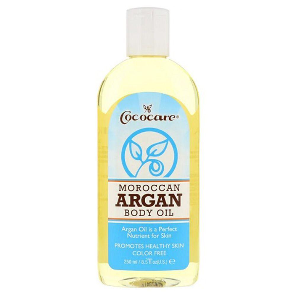 زيت الأرجان المغربي 100 طبيعي 250 مل من كوكوكير متجر راق Body Oil Oil Moisturizer Fragrance Free Products
