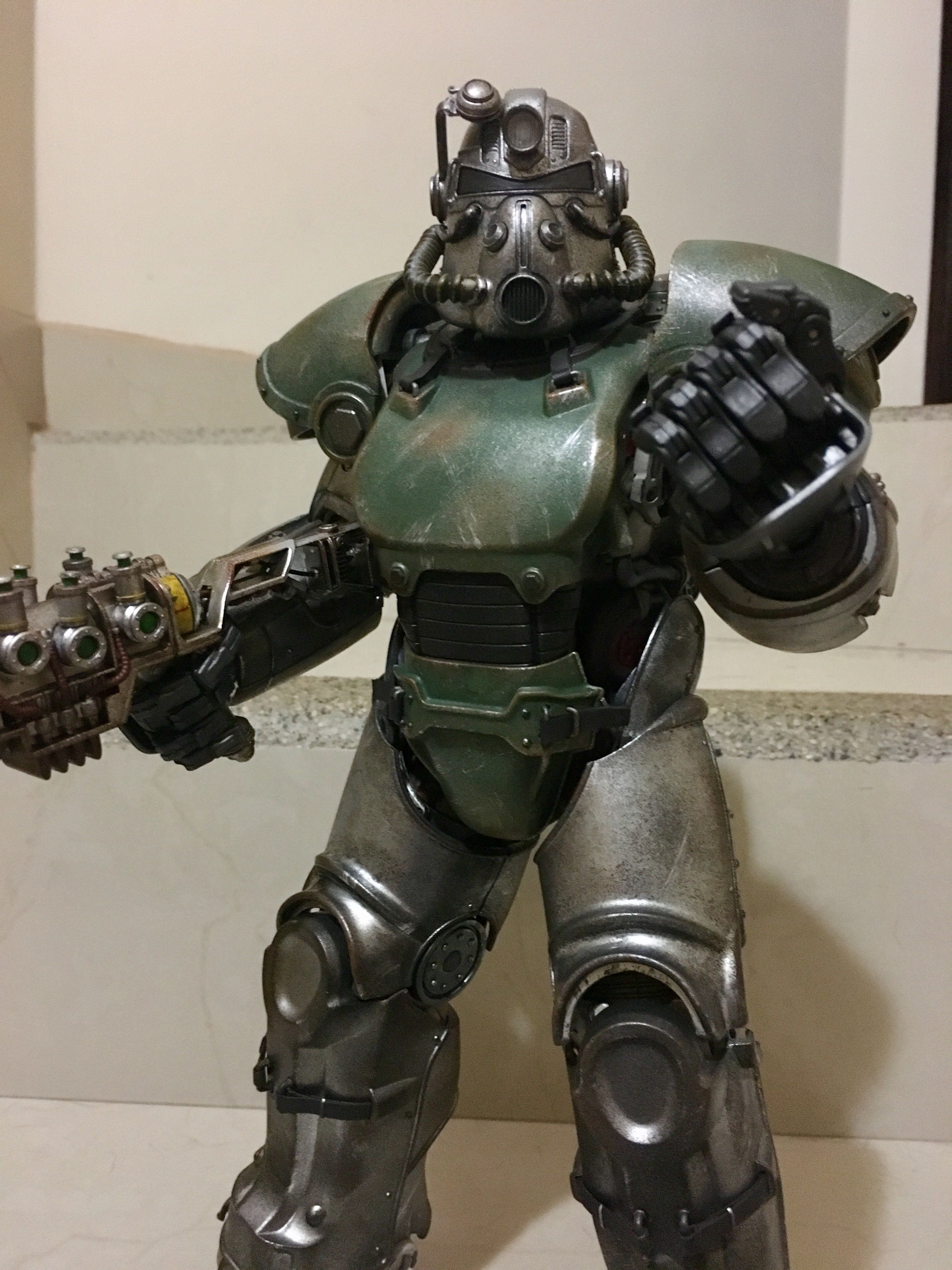 T51B the most iconic Fallout helmet was recreated