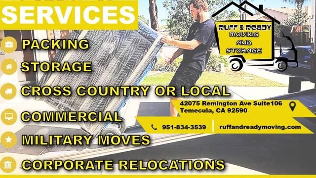 Moving Local Long Distance Need Storage Ruff And Ready 844